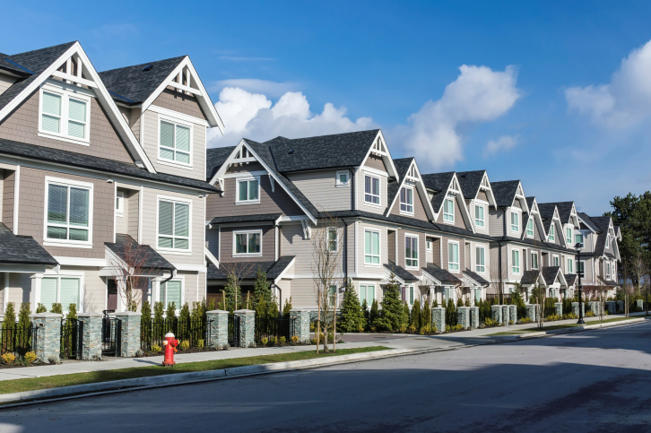 Townhouses and Condo Properties can count on All county for perfect HOA Street Maintenance