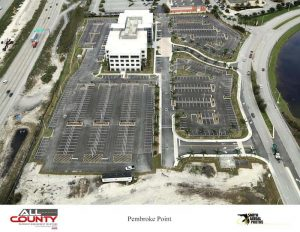 Parking-Lot-paving-aerial-view-Pembroke-Point