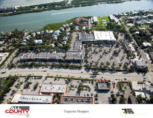 Tequesta-Shoppes-aerial-view-of-Paving-project-Tequesta-FL