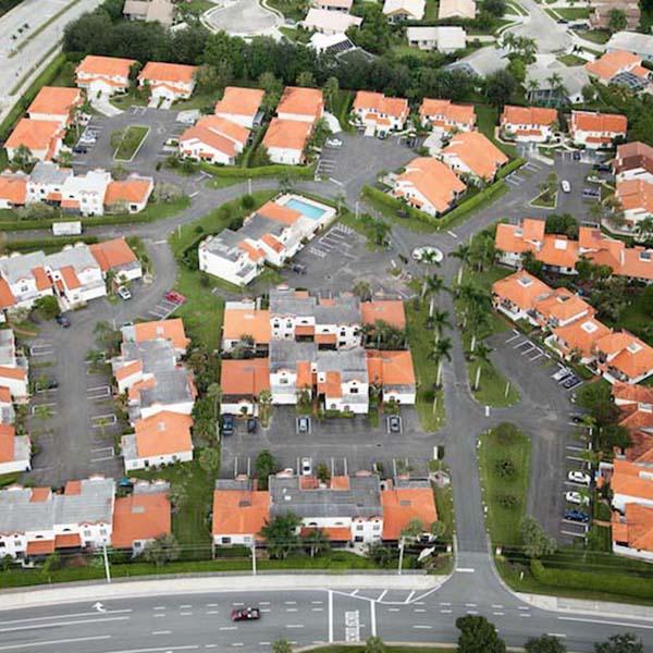 Apartment building parking lot paving project Wellington FL