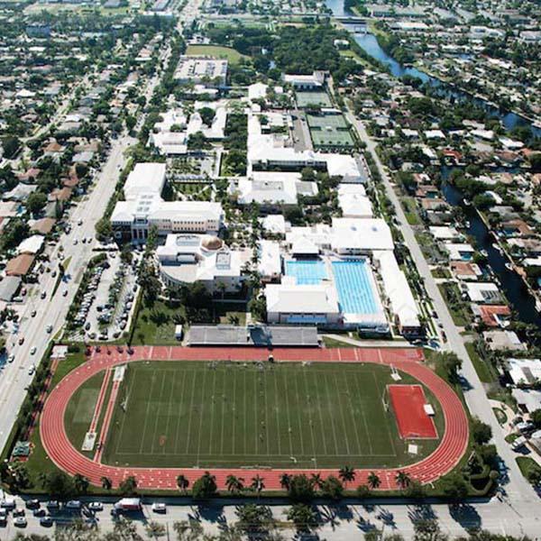 Commercial Pavement Construction Pine Crest School Boca Raton FL