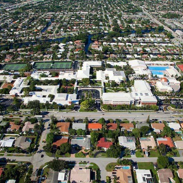 Commercial Paving Project Pine Crest School Boca Raton FL