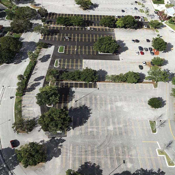 Coral Square Mall Parking Lot Paving Project Coral Springs FL