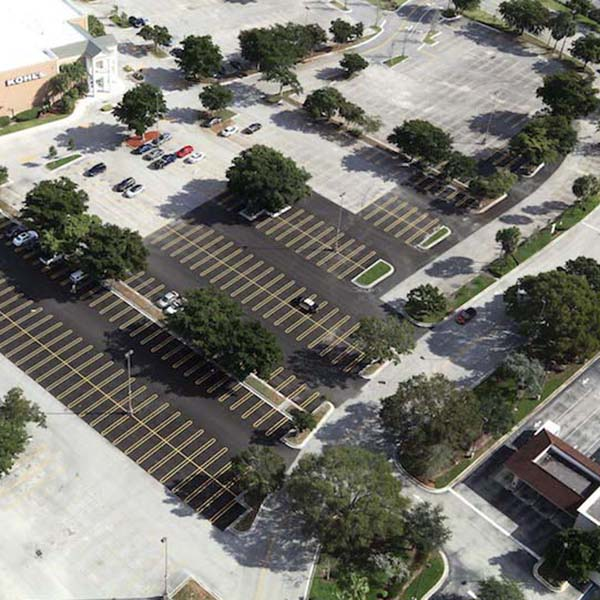 Coral Square Mall Parking Lot Paving photo Coral Springs FL