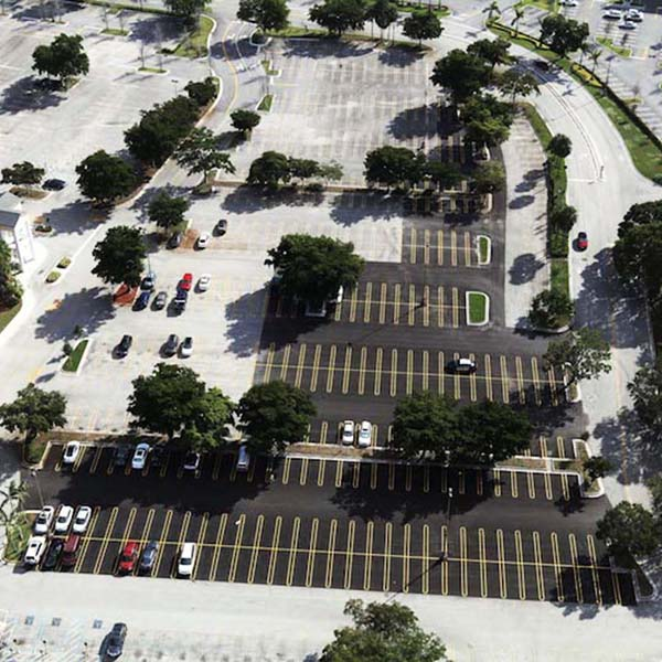 Coral Square Mall Parking Lot repair photo Coral Springs FL