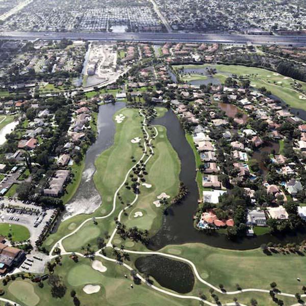 Golf Community Road Paving Plantation FL