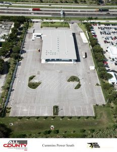 Parking-Lot-paving-at-Cummins-Power-West-Palm-Beach-FL