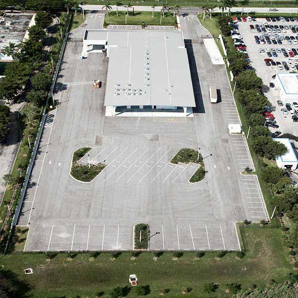 Parking Lot Paving at Cummins Power West Palm Beach FL