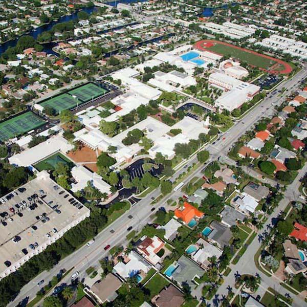 Pavement Maintenance Project Pine Crest School Boca Raton FL