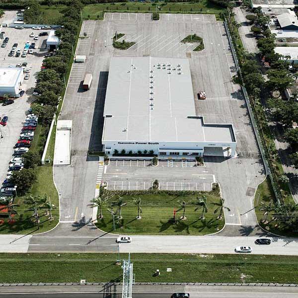 Pavement Project Cummins Power West Palm Beach FL