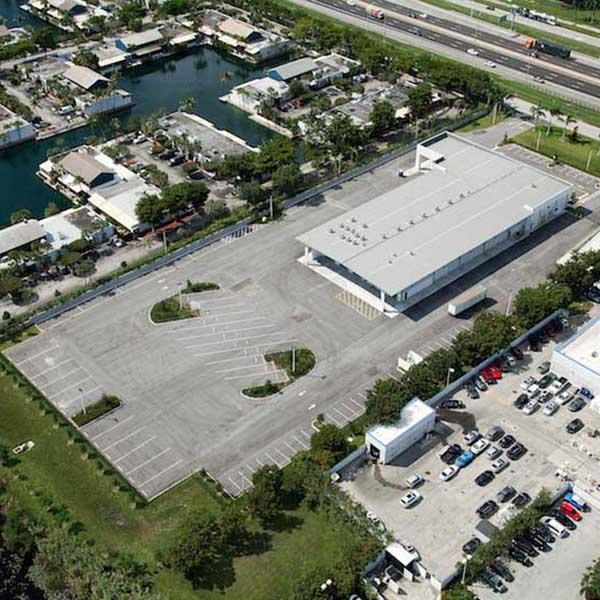Pavement Repair at Cummins Power West Palm Beach FL